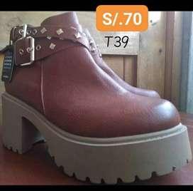 Botines Miss Carol T39 /Calzado Zapatos