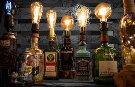 lamparas vintage personalizadas e iluminación de interiores y exteriores