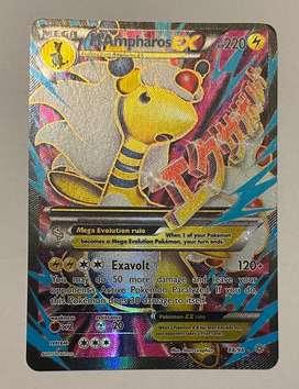 Mega Ampharos Ex Fullart Pokemon Card