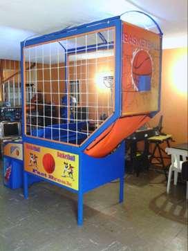 Maquina basketball de redención  Ideal para alquiler en eventos infantiles
