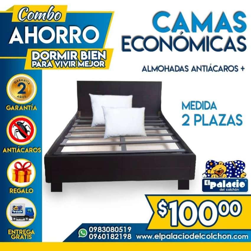 !!* PROMOCIONES *!! CAMAS DE MADERA / CAMAS TAPIZADAS / CAMAS LITERAS / CAMAS LINEALES / CAMAS METÁLICAS / COLCHONES ** 0