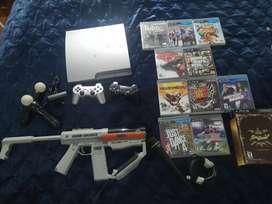 Venta play station 3 -  PS3 con accesorios full