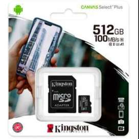 MICRO SDCS2/512GB 100MB/s KINGSTON ORIGINAL.