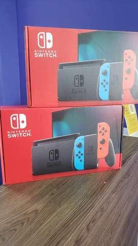 Nintendo Switch Neon Nuevas Selladas
