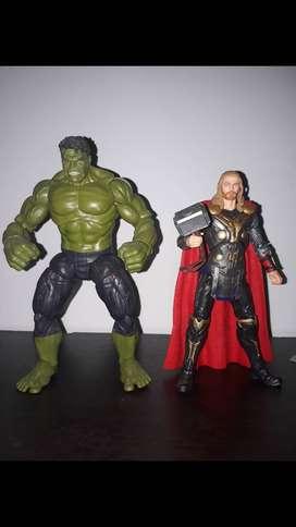 Hulk y thor marvel legends