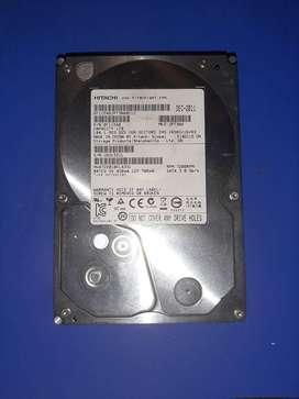 Disco Duro Interno Sata Hitachi 1 Tb 3.0 7200 Rpm Pc Dvr.200 incluye cable sata