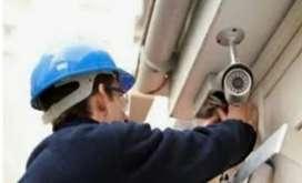 instalacion y configuración  cámaras de seguridad