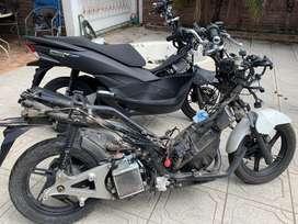 Honda pcx 150 dada de baja venta de repuestos