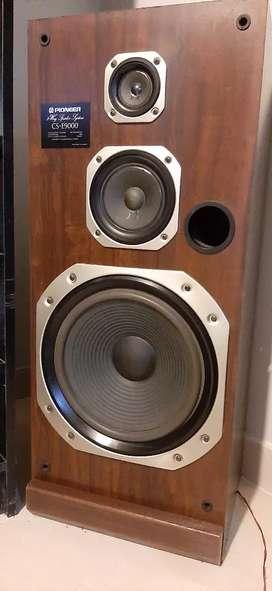 Parlantes pioneer modelo CS E9000