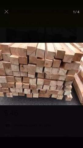 Puntales madera saligna 2x2 REGALO