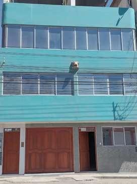 Vendo casa de 4 pisos