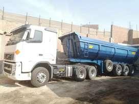 Volvo FH 440 tracto camión 6x4