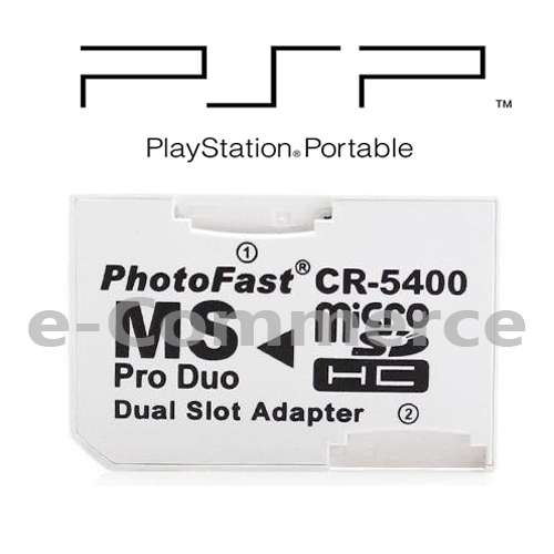 Adaptador Photofast Memory Stick Duo Adaptador Psp mepria Micro Sd 0