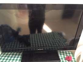Televisor sony para repuestos pantalla dañana