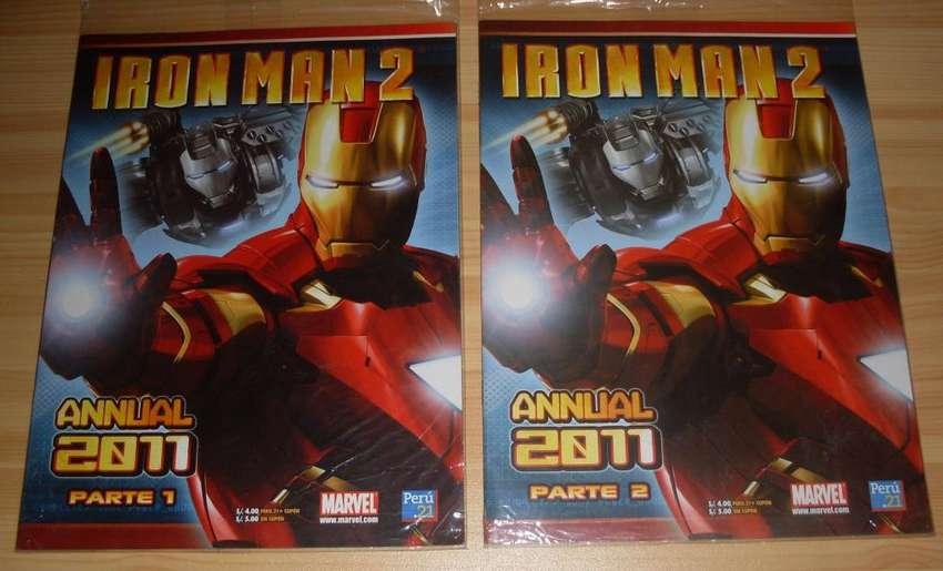 Comics Iron Man 2 , Saga Completa , Formato Grande , Nuevos y Sellados 0