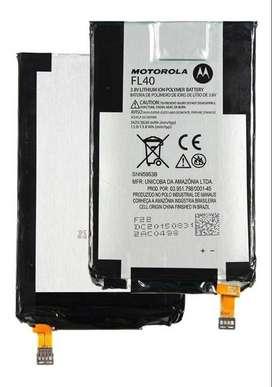 bateria MOTO X PLAY FL40 original GENUINA Xt1560 Xt1562 Xt1563 Xt1564 Xt1565 CON ANTENA NFC