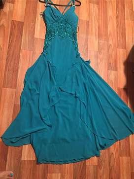 Elegante vestido largo fiesta Talla M