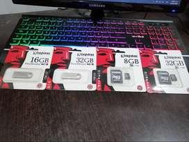 Memorias SD y USB