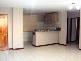 Departamento de alquiler en Urbanización San Felipe, dos dormitorios.