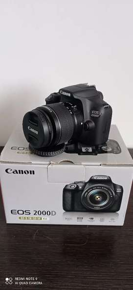 CAMARA CANON EOS 2000D KIT 18-55