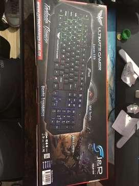 Teclado gamer Jyr tgmjr-009 nuevo