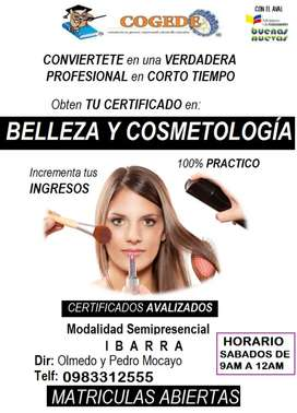 Curso Belleza y Cosmetología