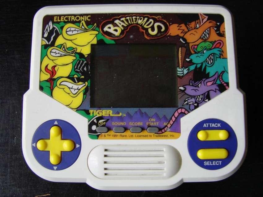 Battletoads Rash Pimple Zitz Video Game Boy Tiger Electronic 0