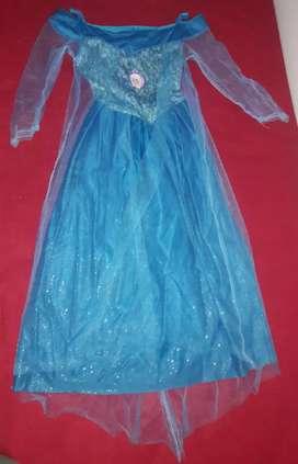 Vendo vestido de frozen