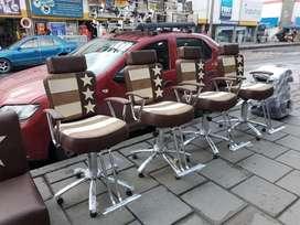 silla de corte barberia