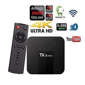 Tv Box conviertidor en Smart Tv ICA