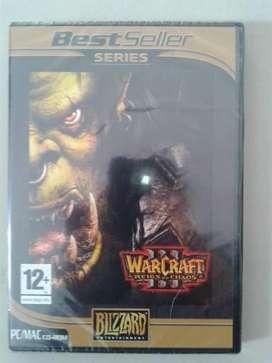 Warcraft Reign of Chaos nuevo, sellado
