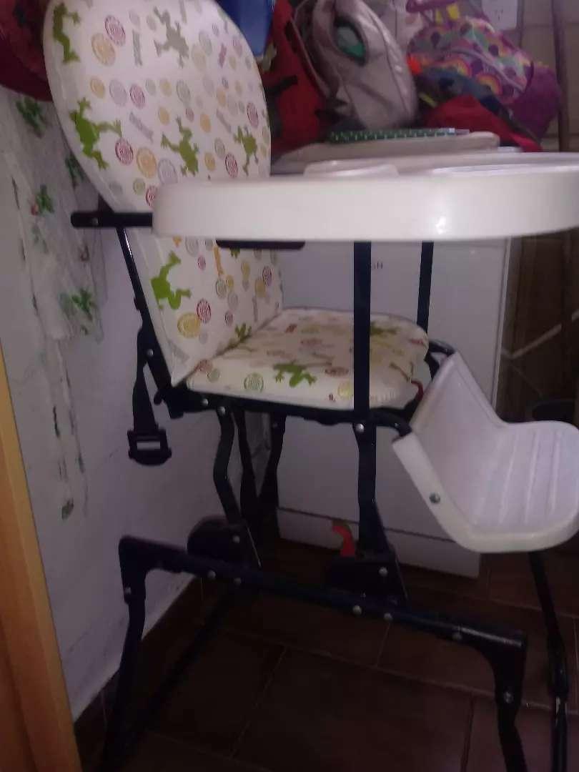 Vendo silla bebe Bebesit mas gimnasio bebe 0
