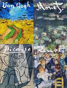 Colección de ARTE, Monet - Picaso - Renoir - Van Gogh