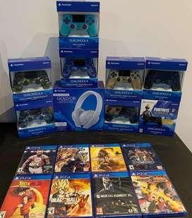 Jugeos y accesorios PlayStation