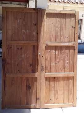 Puertas de placard lisas 1,47x1,80_