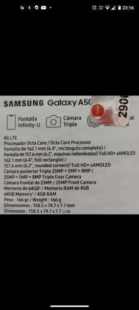 Se vende Samsung A50 en buen estado