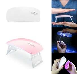 Mini Lampara Uv/led Para Uñas Gel Esmalte Semi Permanente