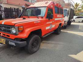 Toyota Land Cruiser Ambulancia
