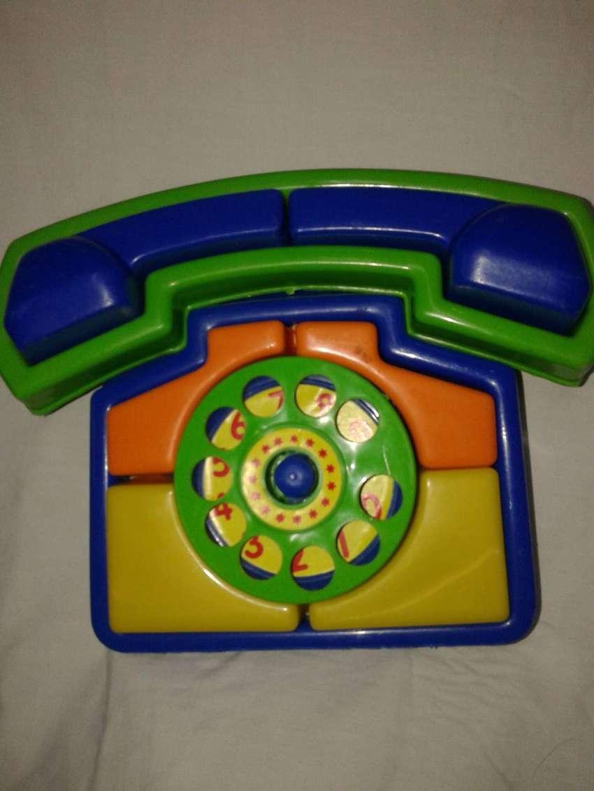 telefono didactico nuevo  perfecto hermoso 0