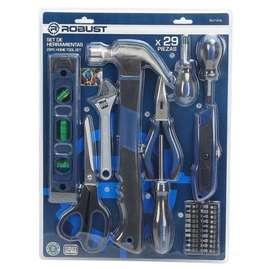 El mejor regalo para papá- set de 29 herramientas Robust.