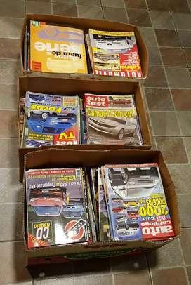Increible lote de revistas del mundo automotor