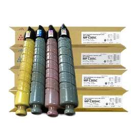 Toner Ricoh Aficio Mp C306/c307/c406/c407 Original Cyan/Yellow/Magenta
