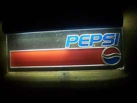Cartel retro Pepsi acrilico luminoso edicion Limitada Decada Años 70