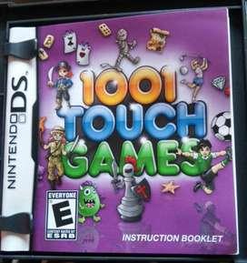 Juego de Nitendo Ds 1001 Touch Games