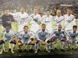 Vendo fotos del Real Madrid Epoca de oro autografiadas