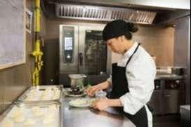 Cajer@, auxiliar de cocina, parrillero
