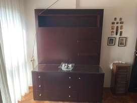 Mueble rack para tv living o dormitorio