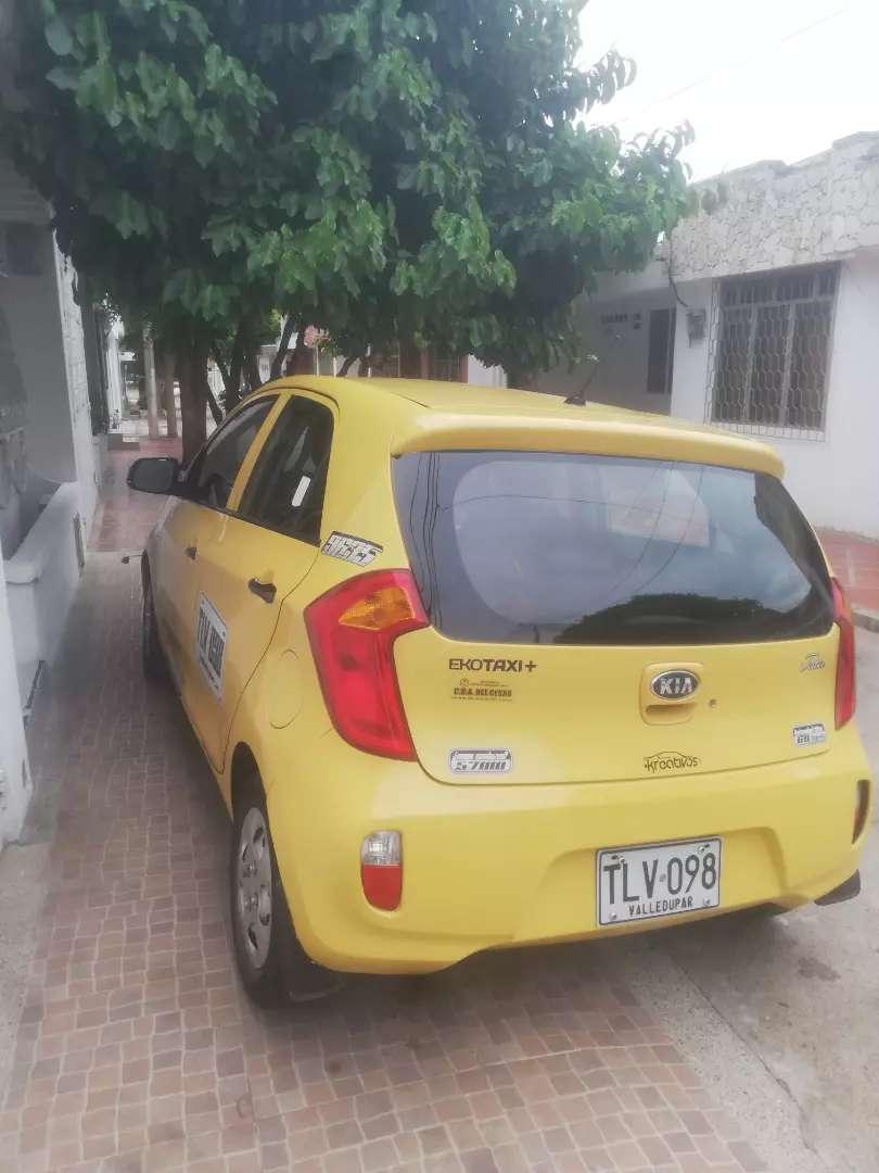 Taxi kia picanto único dueño un solo chófer 0