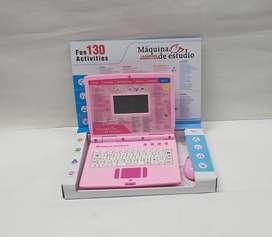 Computador rosa didáctico 130 funciones