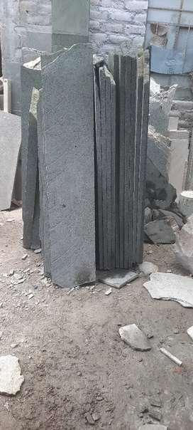 Ayudante cuadradir laminas de piedra